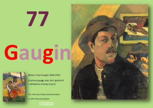 System główny karta 77 Gaugin