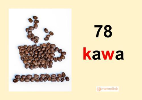 System główny karta 78 kawa