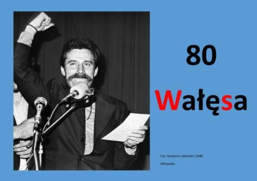 System główny karta 80 Wałęsa