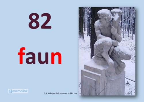 System główny karta 82 Faun